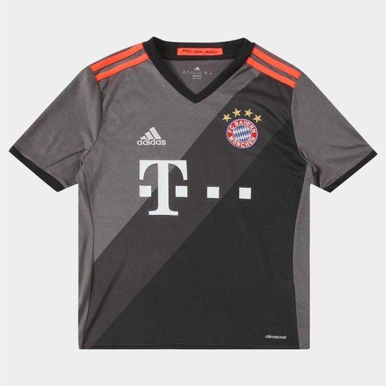 808200166bf5b Camisa Bayern de Munique Infantil Away 16 17 s nº - Torcedor Adidas ...
