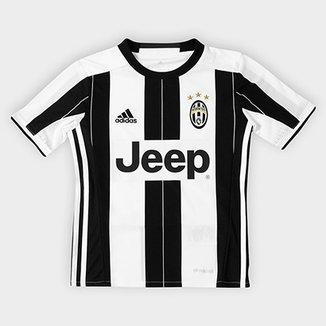 a90df2242ed01 Camisa Juventus Infantil Home 16 17 s nº - Torcedor Adidas