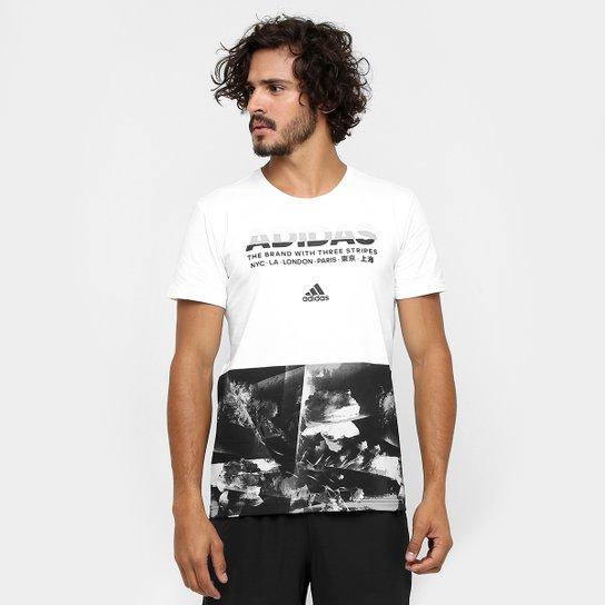 Camiseta Adidas Adi Aop Masculina - Compre Agora  e5fe60a9050e2