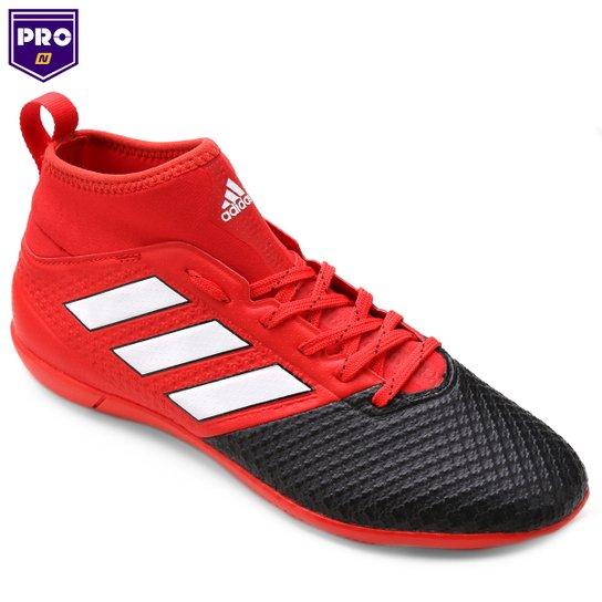 65592a89d8006 Chuteira Futsal Adidas Ace 17.3 IN - Vermelho e Preto - Compre Agora ...