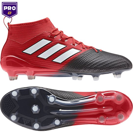 bf8ae30216 Chuteira Campo Adidas Ace 17.1 FG Masculina - Vermelho+Preto
