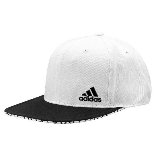 Boné Adidas Aba Reta Flat Masculino - Compre Agora  cdbb82ece06
