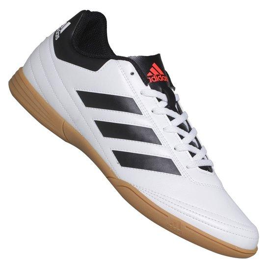 c4736d0b35 Tênis Adidas Futsal Goletto VI - Branco+Preto