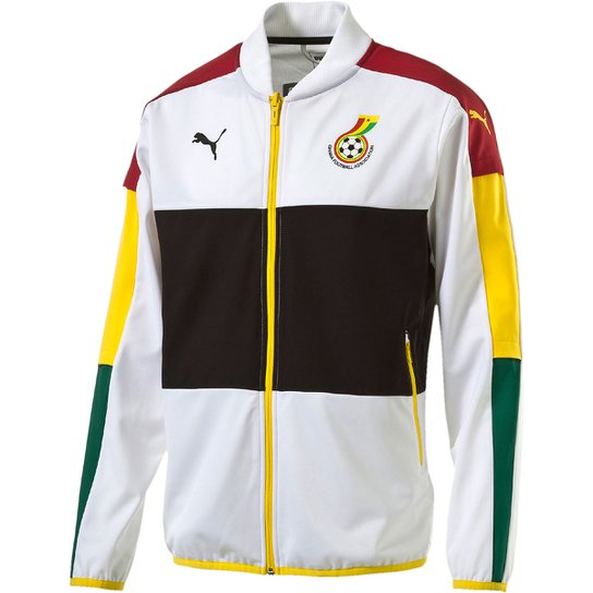 Jaqueta Puma Seleção Gana Stadium - Compre Agora  6f54d1d582680