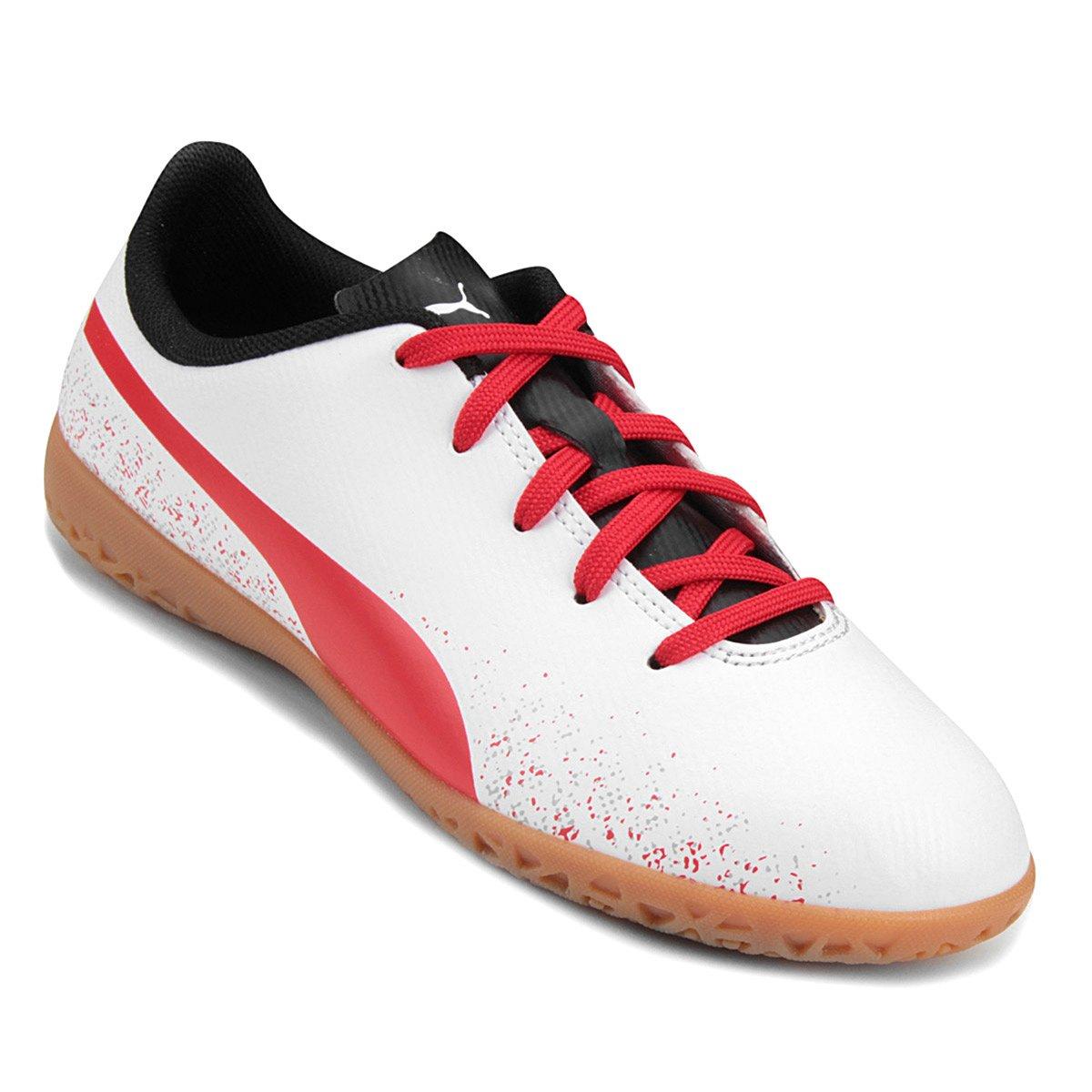 40%OFF Chuteira Futsal Infantil Puma Truora IT 9081483508407