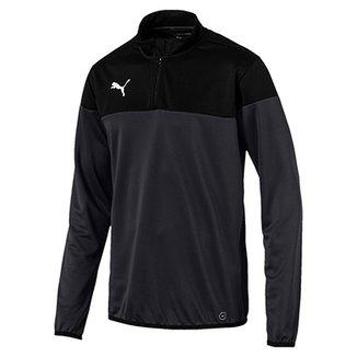 Camisa Puma 1 4 Zip Top Manga Longa Masculina e11d358c103c3