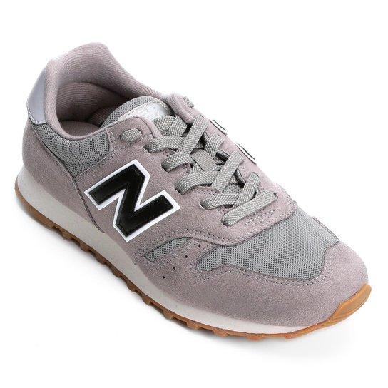 3f38007ea0c Tênis New Balance 373 - Core - Cinza e Preto - Compre Agora