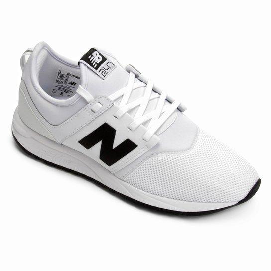 3c2923fcf86 Tênis New Balance 247 Masculino - Branco e Preto - Compre Agora ...