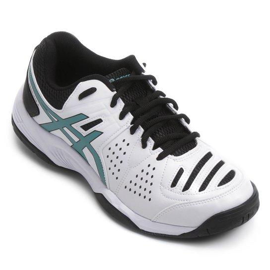 Tênis Asics Gel Dedicate 4 - Branco e Preto - Compre Agora  ffbe44333dd97