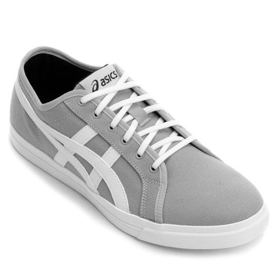 3e84a3a336 Tênis Asics Aaron Cv Br Masculino - Cinza e Branco | Netshoes
