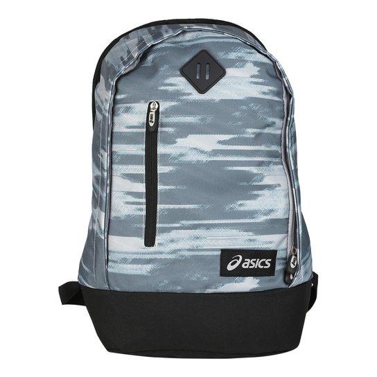 ae0a0e332 Mochila Asics Week Backpack - Cinza+Preto