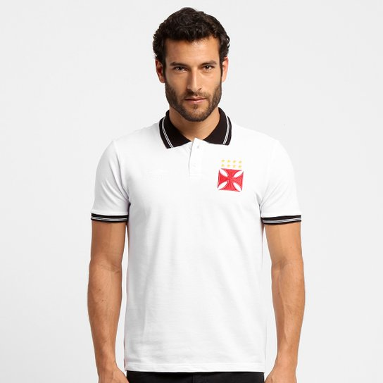 Camisa Polo Vasco Umbro Classic Basic Masculina - Compre Agora ... 710085b079136