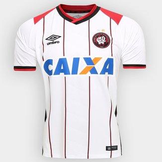 Camisa Athletico-PR II 2016 s nº Torcedor Umbro Masculina 8d99267071782