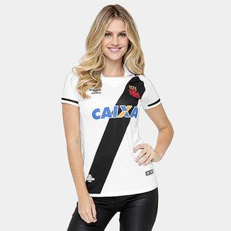83ccb9c08 Camisa Vasco II 17/18 s/nº Torcedor Umbro Feminina