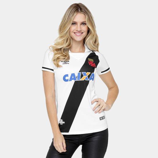 2236ed4ecf094 Camisa Vasco II 17 18 s nº Torcedor Umbro Feminina - Compre Agora ...