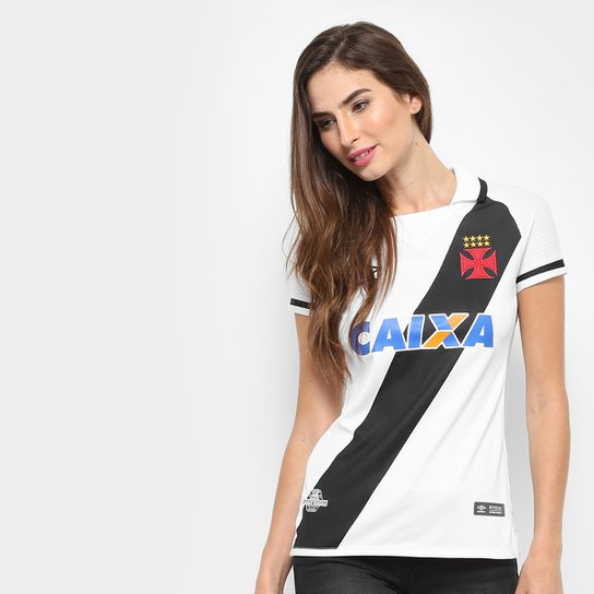 6706eb784a262 Camisa Vasco II s n° 17 18 Torcedor Umbro Feminina - Compre Agora ...