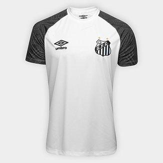 Camisa Santos Treino 2018 Umbro Masculina f64d0a7bd43cf
