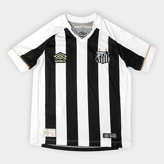 33c39291ed8de Camisa Santos Juvenil II 2018 s n° Torcedor Umbro