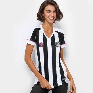 8b67d2fd6 Camisa Santos II 2018 s n° Torcedor Umbro Feminina