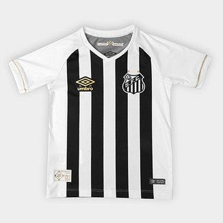 8c77d8a7e3 Camisa Santos II 2018 Infantil s n° Torcedor Umbro