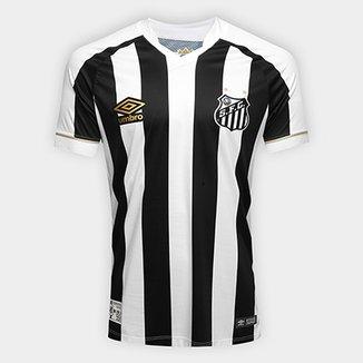 Camisa Santos II 2018 s n° Jogador Umbro Masculina 332f058749e