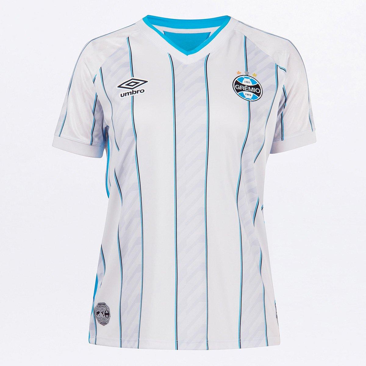 Camisa Grêmio II 20/21 s/n° Torcedor Umbro Feminina