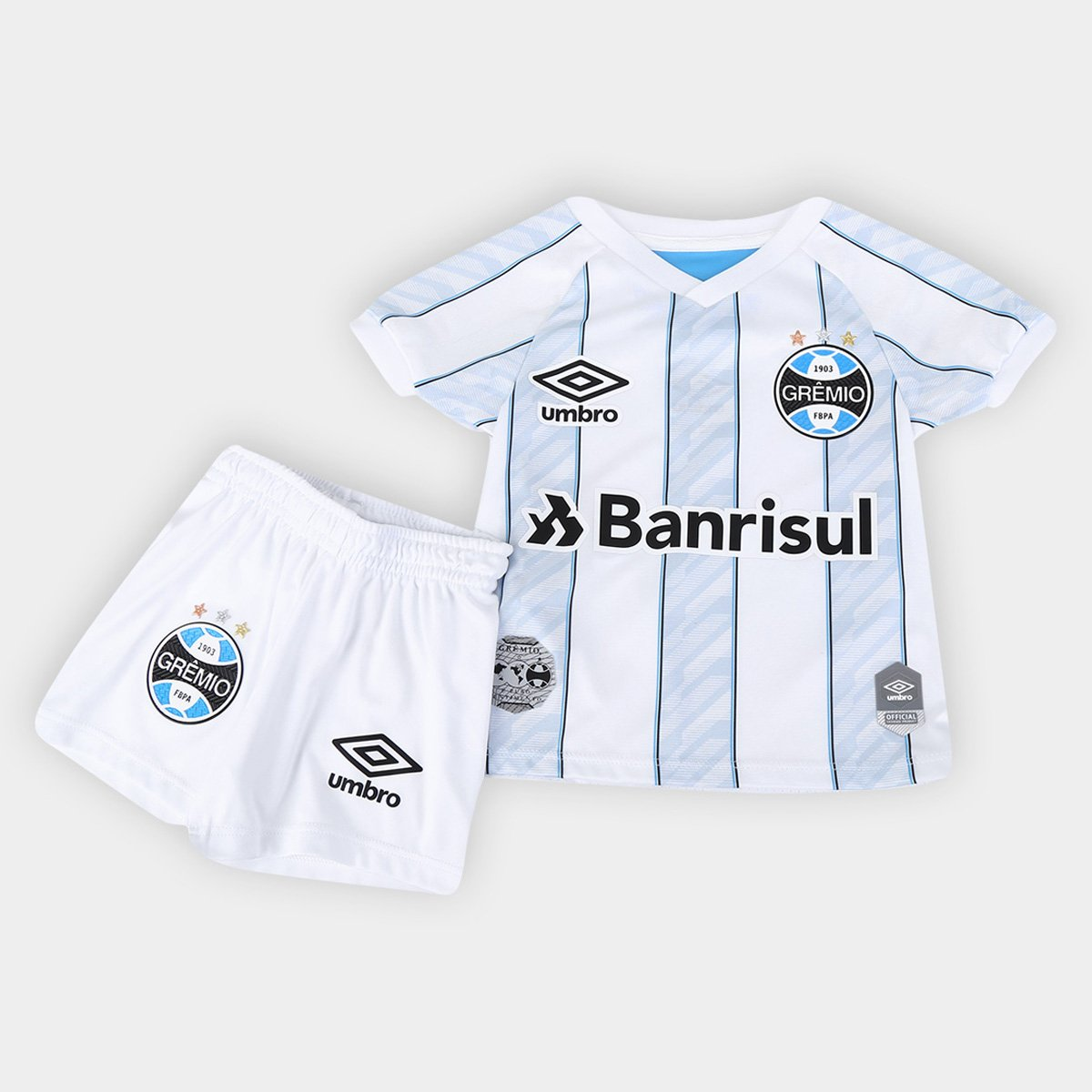 Kit Grêmio Infantil II 20/21 s/n° Torcedor Umbro