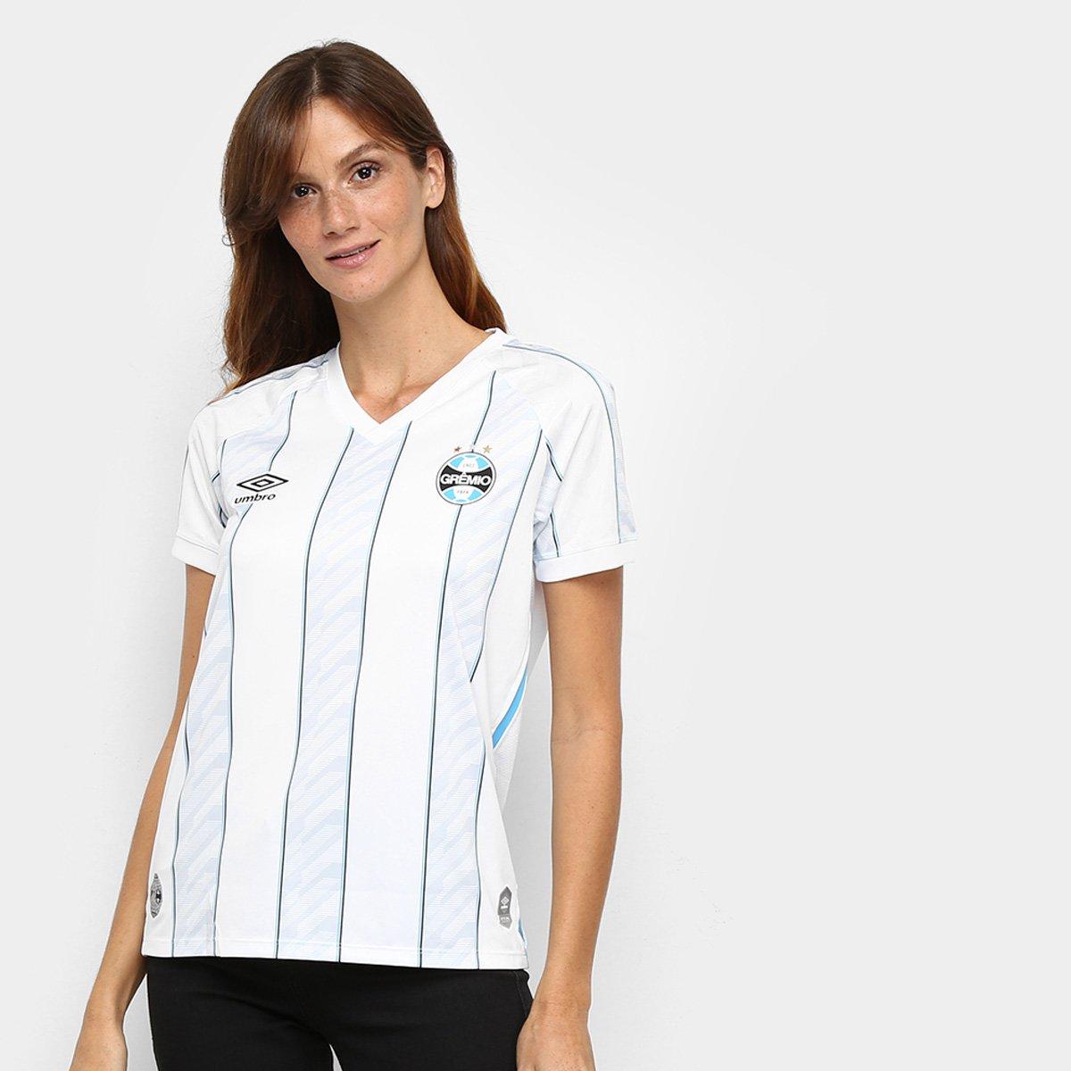 Camisa Grêmio II 20/21 s/n° Estádio Umbro Feminina