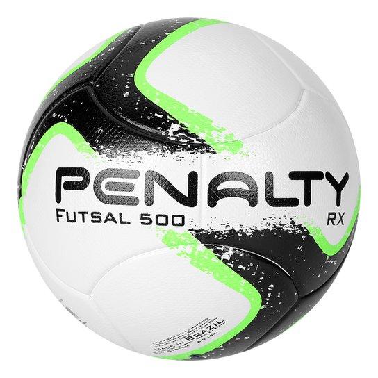 c4cac4126d8cb Bola Futsal Penalty RX 500 R1 Ultra Fusion 7 - Branco+Preto ...