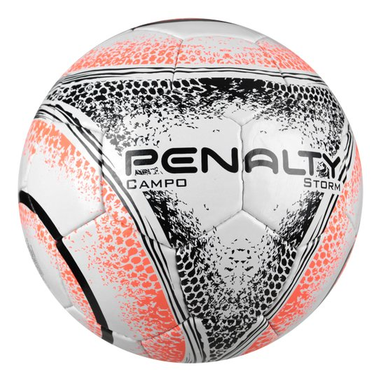 7b82d56744 Bola Futebol Campo Penalty Storm C C VIII - Branco e Preto - Compre ...