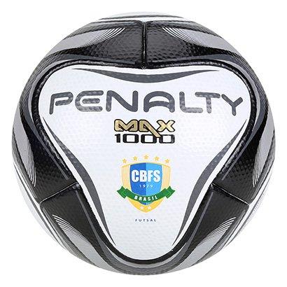 Bola de Futsal Penalty Max 1000 All Black - Edição Limitada