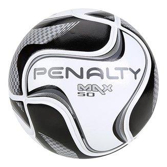 c64a431cbe Bola de Futsal Penalty Max 50 All Black - Edição Limitada