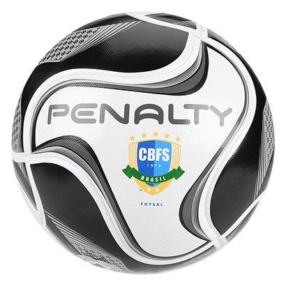 Bola de Futsal Penalty Max 500 All Black - Edição Limitada