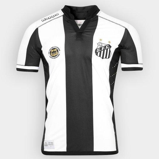 Camisa Santos II 2016 s nº Kombat Kappa Masculina - Compre Agora ... 8e0e52ebbc8fe