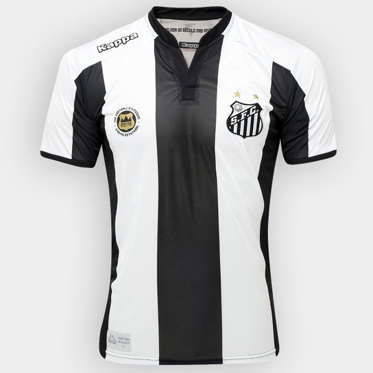 Camisa Santos II 2016 s nº Torcedor Kappa Masculina - Compre Agora ... 0e121bdec2c52