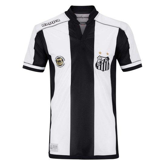 Camisa Kappa Santos Away Replica Inf - Compre Agora  5d8a7d55714cc