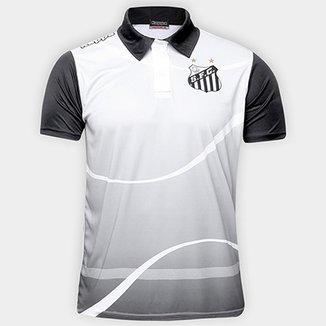 3d2f32bdcccba Camisa Polo Santos Zito 17 Masculina