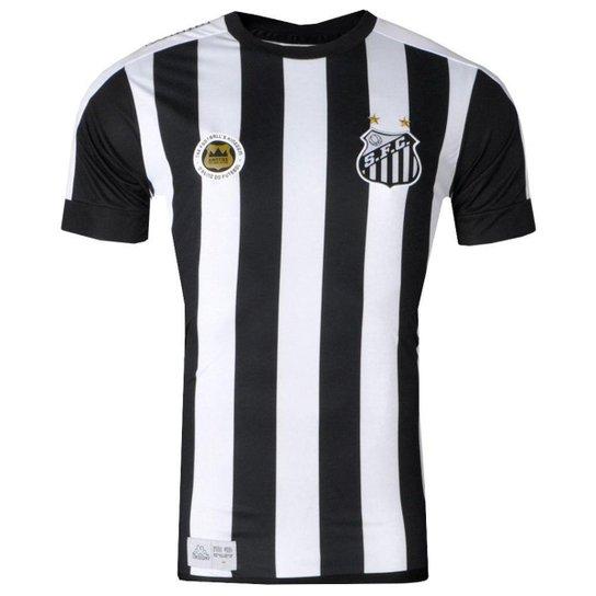 51e4bfebdde7d Camisa Santos Jogo II Torcedor 2017 Kappa Masculina - Compre Agora ...