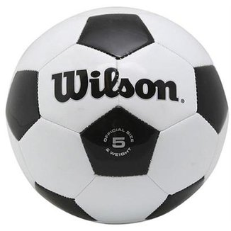Bola Futebol Traditional No. 5 Oficial - Wilson 1f628c265b857