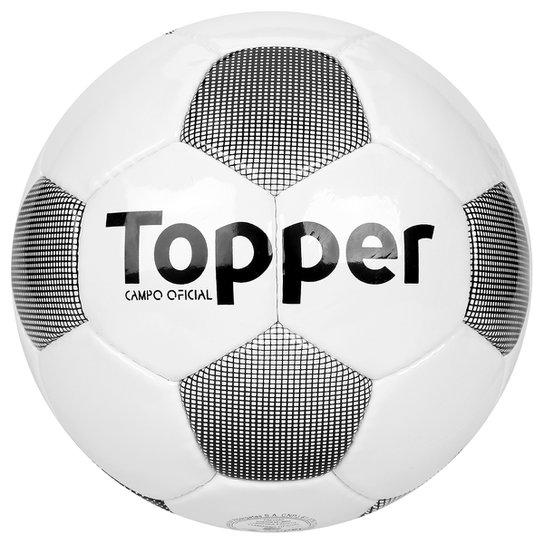 79b1cee81b Bola Futebol Campo Topper Extreme 4 - Branco e Preto - Compre Agora ...