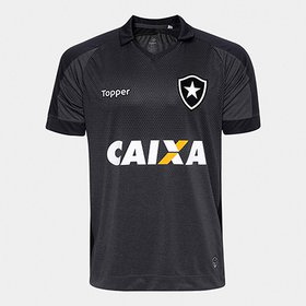 348bb84b14ed1 Camisa Topper Botafogo II 2017 Masculina - Compre Agora