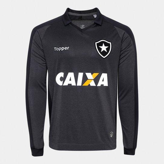 404bb10cc6 Camisa Botafogo II 17 18 s n° - Torcedor Topper Masculina - Compre ...