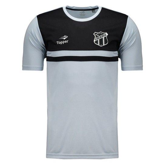 a8c8af260c Camisa Topper Ceará Concentração 2016 CT Masculina - Compre Agora ...