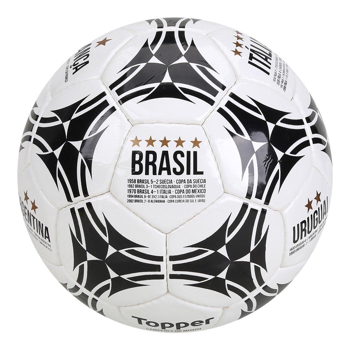 cfd076d1e7d9f Bola de Futebol Campo Topper Campeões do Mundo