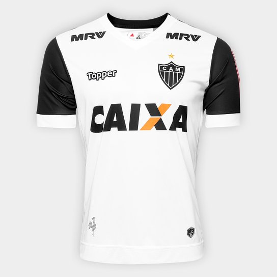 ... Camisa Atlético Mineiro II 17 18 n° 10 Torcedor Topper Masculina -  Branco+ 303ac86af76969 ... 60e3768ec431f