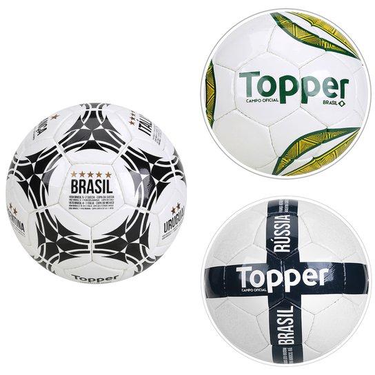 Kit Bolas Campeãs do Mundo - Compre Agora  b8733fd968f2b