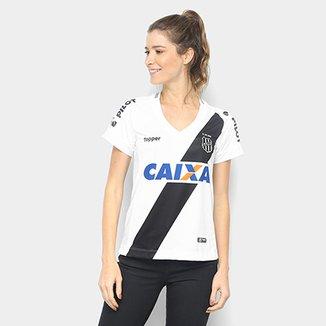7d0716a6b0bb9 Camisa Ponte Preta I 2018 s n° - Torcedor Topper Feminina
