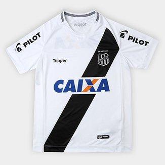 72e083cc6 Camisa Ponte Preta Infantil I 2018 s n° - Torcedor Topper