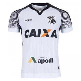 b1cbfd23d76db Camisa Topper Ceará II 2017 Nº10 Masculina