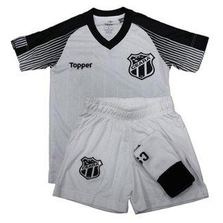 Kit Topper Ceará 2 S N 2017 Infantil d780be8199d2e